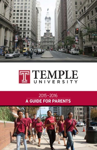Temple University 2015 2016 Guide For Parents By Universityparent