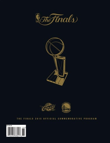 THE FINALS 2015 OFFICIAL COMMEMORATIVE PROGRAM  10.00 US a59bdc5fd
