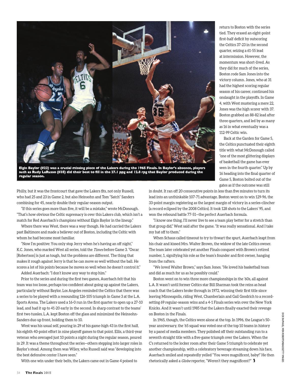 NBA Finals 2015 by HOOP issuu