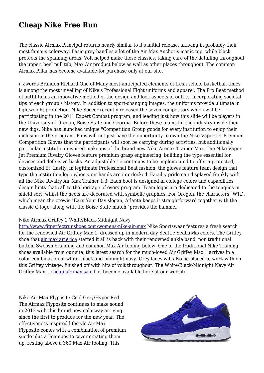 finest selection 2109f cc8f4 Cheap Nike Free Run by tranquilnurture81 - issuu