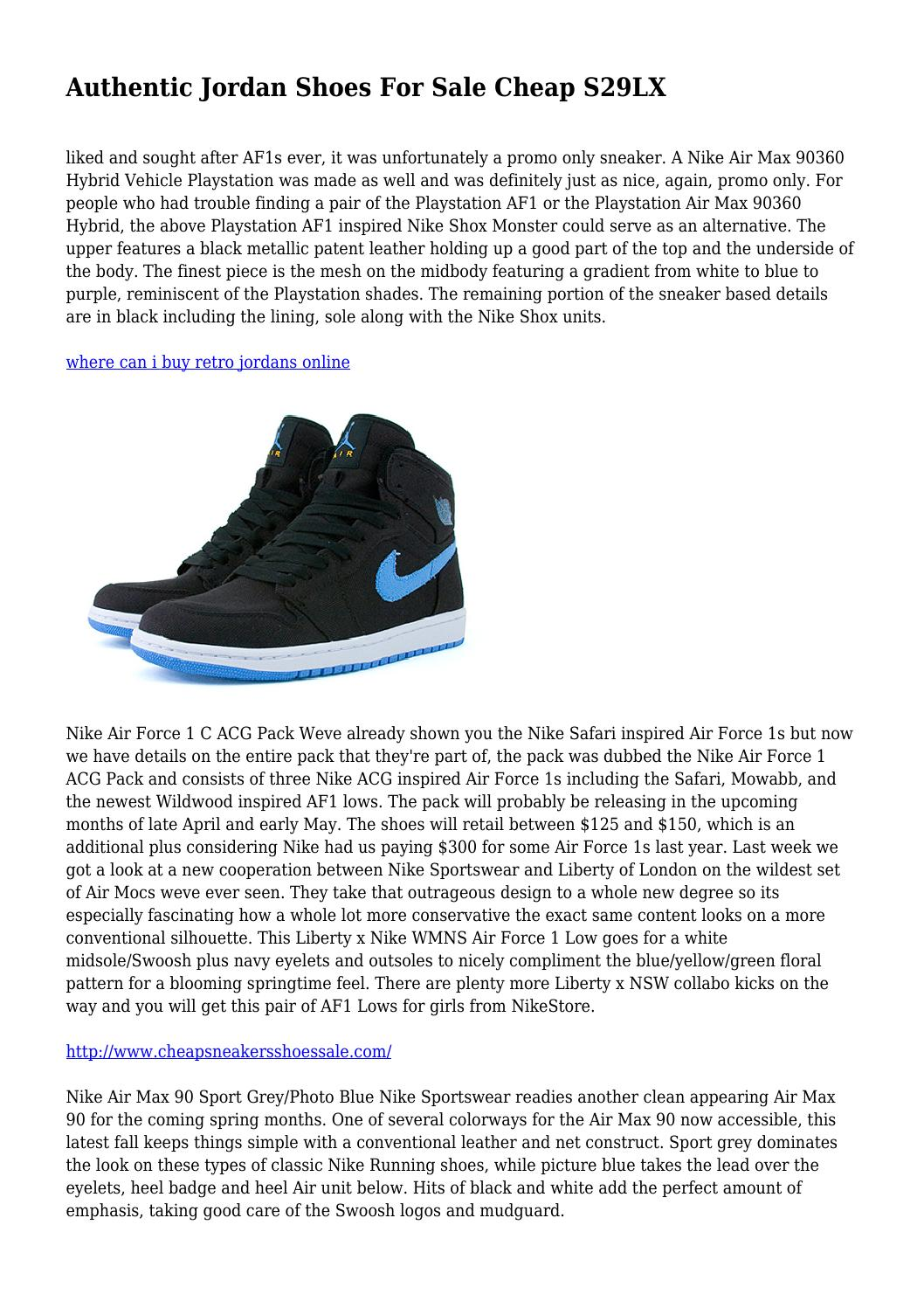 reputable site 7f663 df6be Authentic Jordan Shoes For Sale Cheap S29LX by evanescentstrip66 - issuu