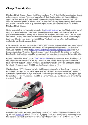 limited guantity official store fashion style Cheap Nike Air Max by spookyguy6820 - issuu