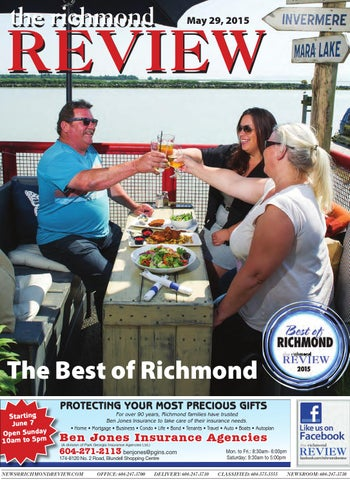 Richmond Review May 29 2015 by Black Press issuu