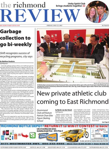 22 may 2015 by Afternoon Despatch & Courier - issuu