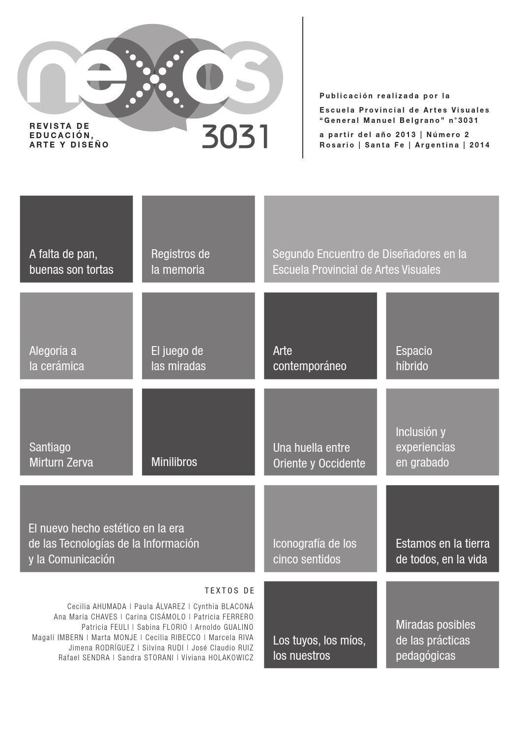 Nexos 3031 - 2014 by Cestudio - issuu