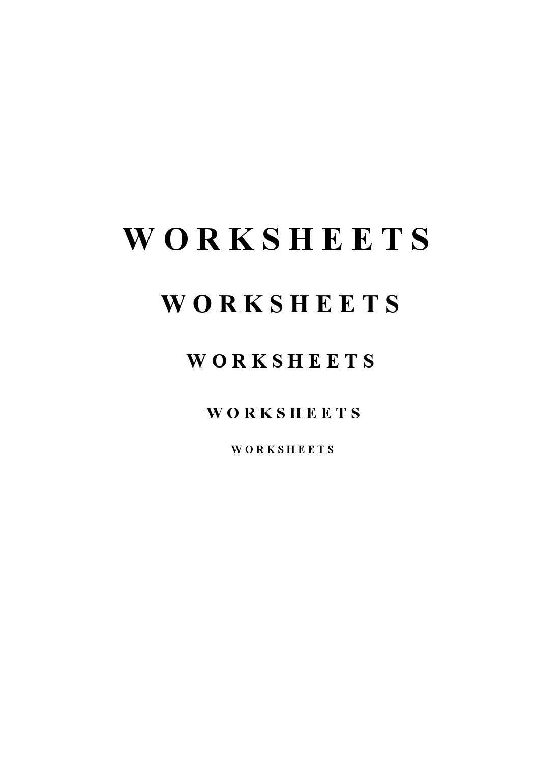10080645 worksheets by Salima - issuu
