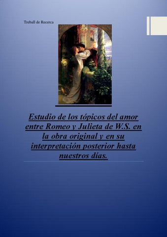 Romeo Y Julieta By Ajcubelles Issuu