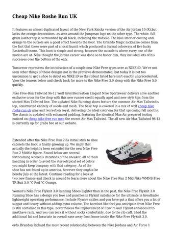 Cheap Nike Roshe Run UK by stimulatinggove54 - issuu