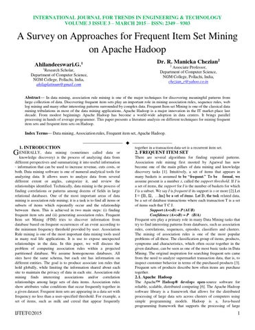 research paper on apache hadoop Free apache papers, essays, and research papers access control layer on top of pig using xacml - apache hadoop is an open-source software framework.