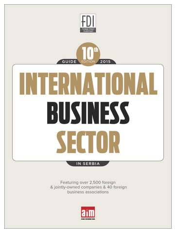 International Busines Sector 2015 by CorD Magazine - issuu