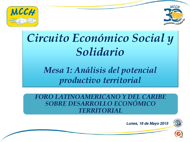 Circuito Economico : Circuito económico social y solidario by undp art initiative issuu