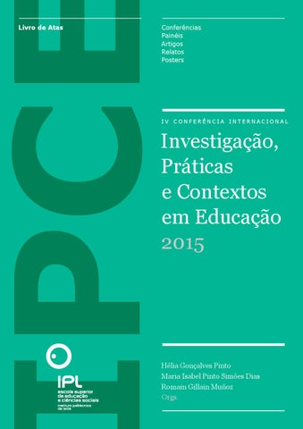 IV IPCE 2015 by Leonel Brites - issuu 7e4c627bd4bf1