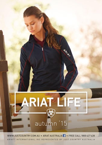 e03e5510f Ariat catalogue 2015 by HRCS - issuu