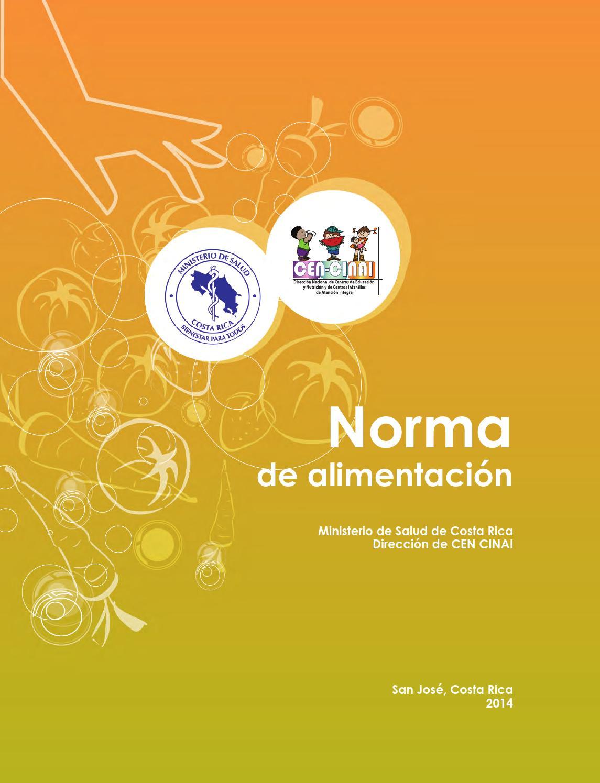 Norma de Alimentación - 2014 by UTIC CEN-CINAI - issuu