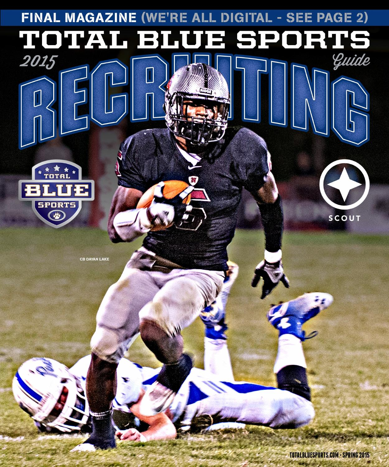 2015 Total Blue Sports Recruiting Yearbook by Total Blue Sports ...