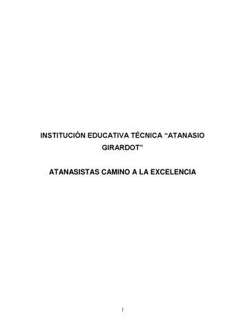 fdcf3a24 Atanasistas camino a la excelencia by JOSE MANUEL HERNANDEZ ...