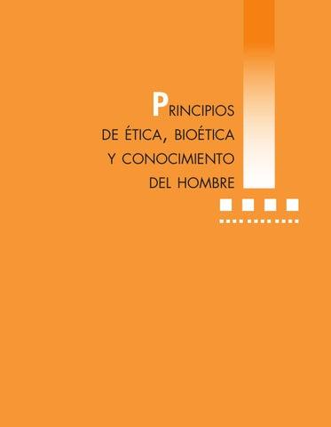 conocimiento del y Libro ética bioética de hombre principios by qwCHP