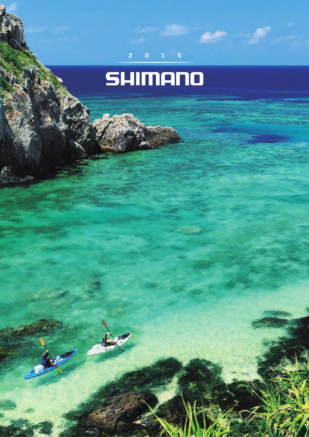 Catalogue Shimano France 2015 by 6000leurres