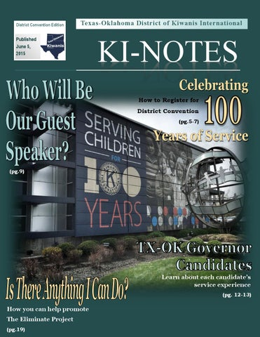 District Convention Edition 2015 by Tx Ok Kiwanis - issuu