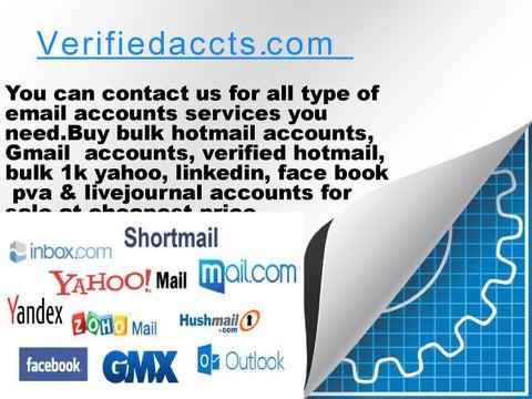 Verifiedaccts Com - Buy Twitter Accounts | Buy bulk hotmail