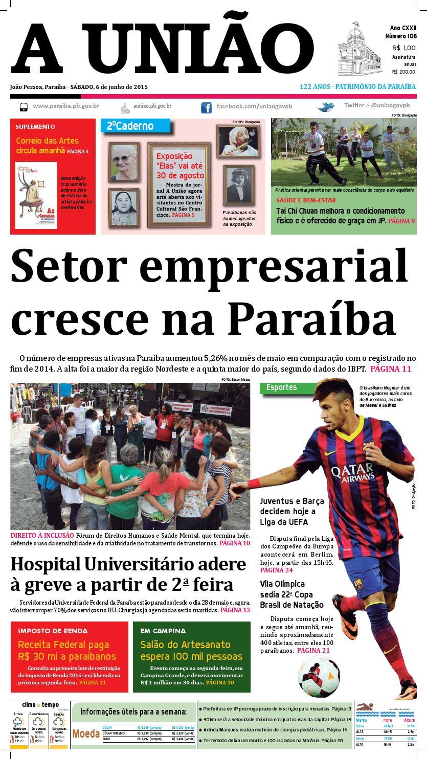 Jornal A União - 06 06 2015 by Jornal A União - issuu 3743eedf1aac1