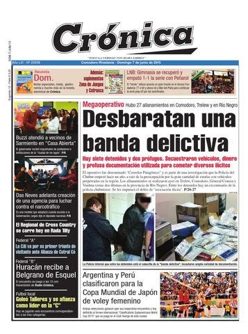 big sale d1929 6d123 1045db5e6725ce88b2ad9ae182a6c0c8 by Diario Crónica - issuu