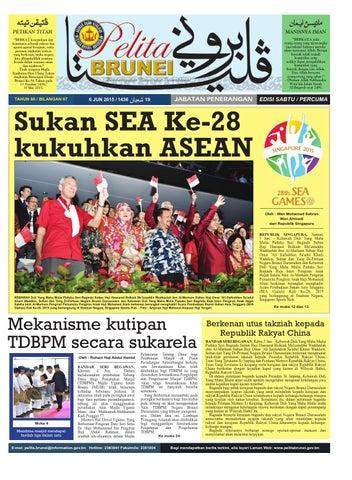 Pelita Brunei Sabtu 6 Jun 2015 By Putera Katak Brunei Issuu