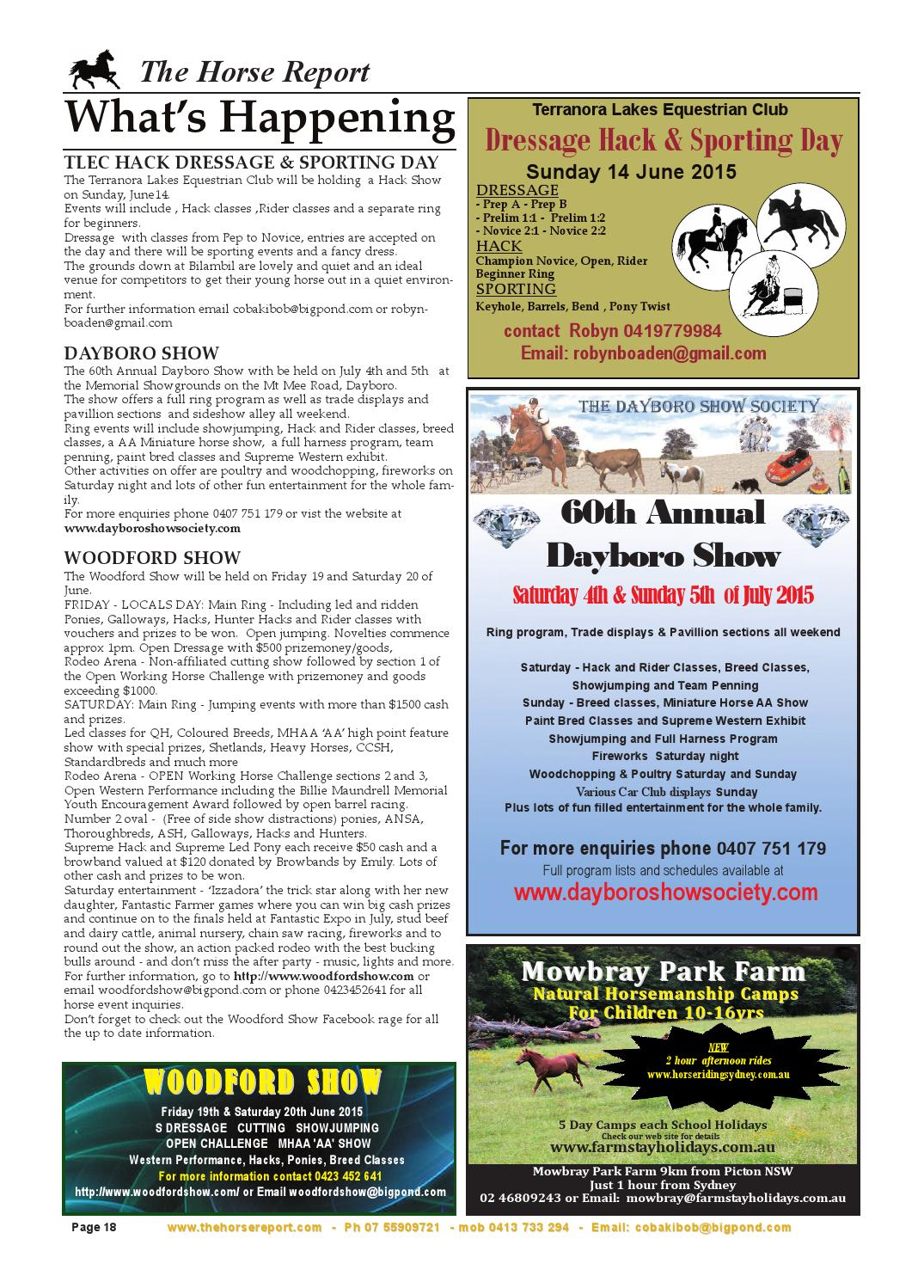 Horse report june 2015 by the horse report - issuu