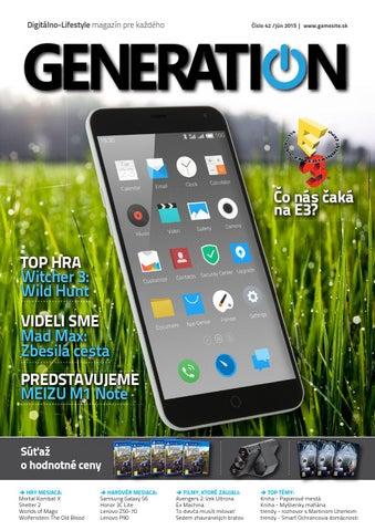 778a4b1ef Generation magazín #042 by Generation magazine - issuu