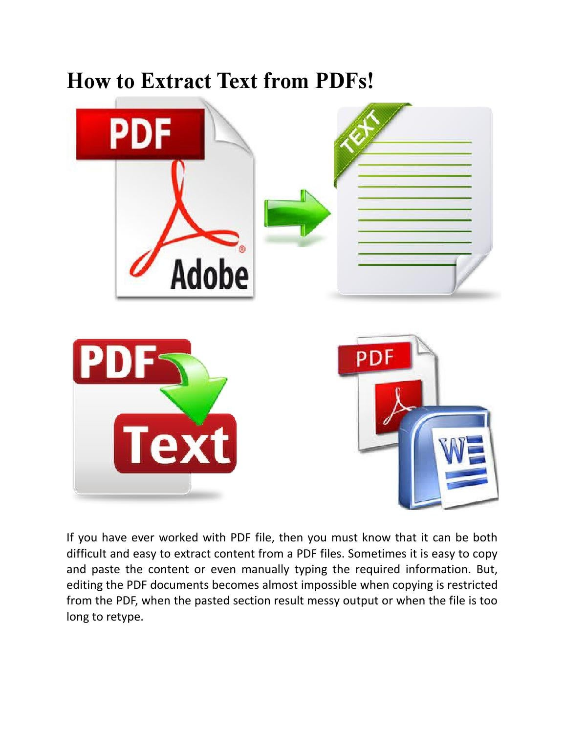 linux extract text from pdf