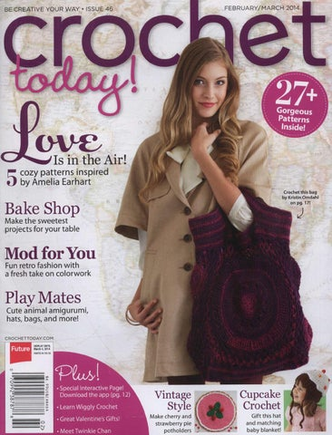 Crochet Today February March 2014 By Issuu