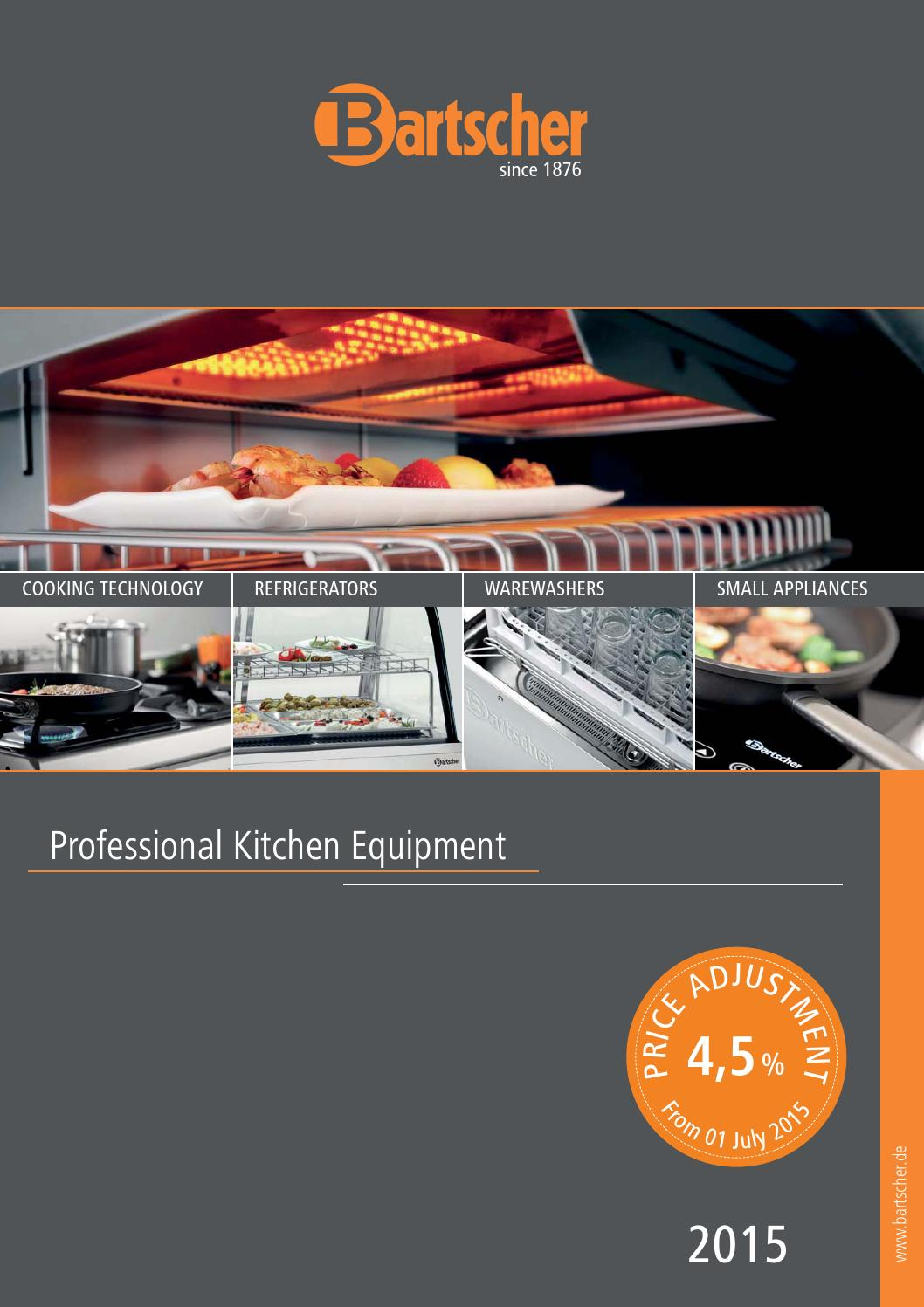 Bartscher Katalog 2015 Gb By Gmbh Issuu Electric 6 24kw Open Radiant Elements 2 1 Gn Oven With 4 Rack