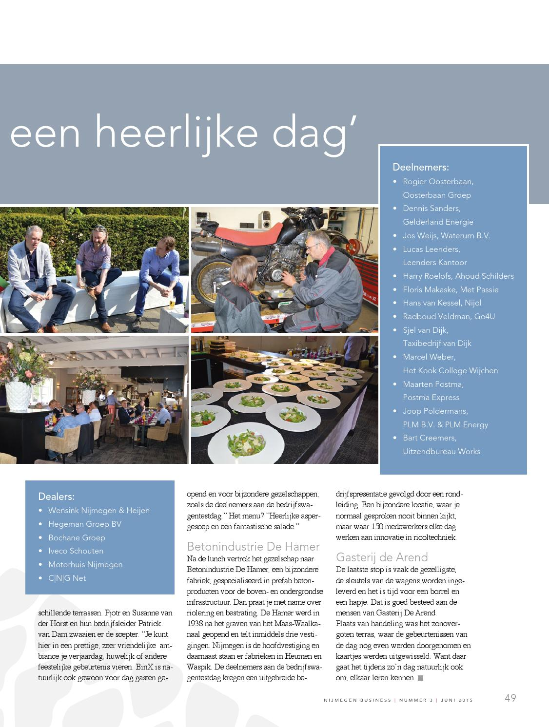 Editie 3 Juni 2015 Nijmegen Business By Nijmegen Business Issuu
