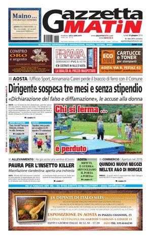 Gazzetta Matin dell 8 giugno 2015 by NewsVDA - issuu 9d86cfa1aa8