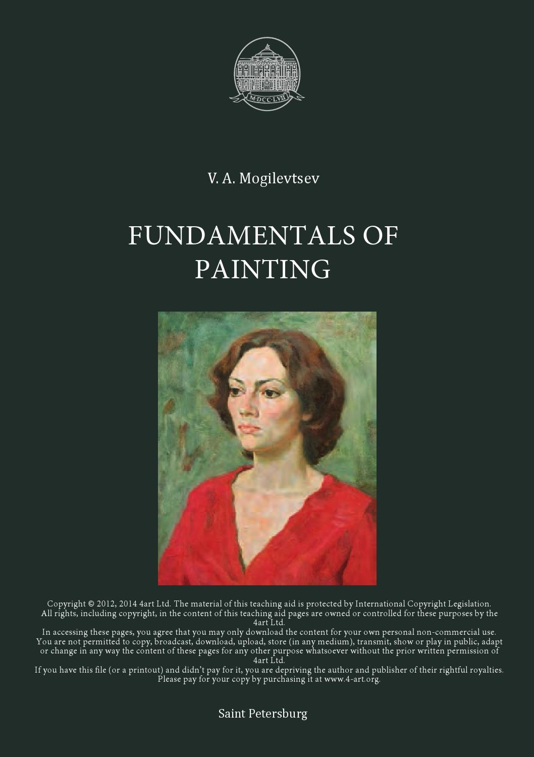 Fundamentals of painting english pdf by 4 art ltd issuu