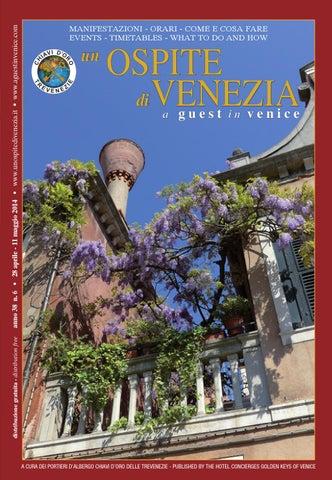 Ospite di venezia a guest in Venice 6-2015 by Coop. Chiavi d Oro ... 57cbb14a414