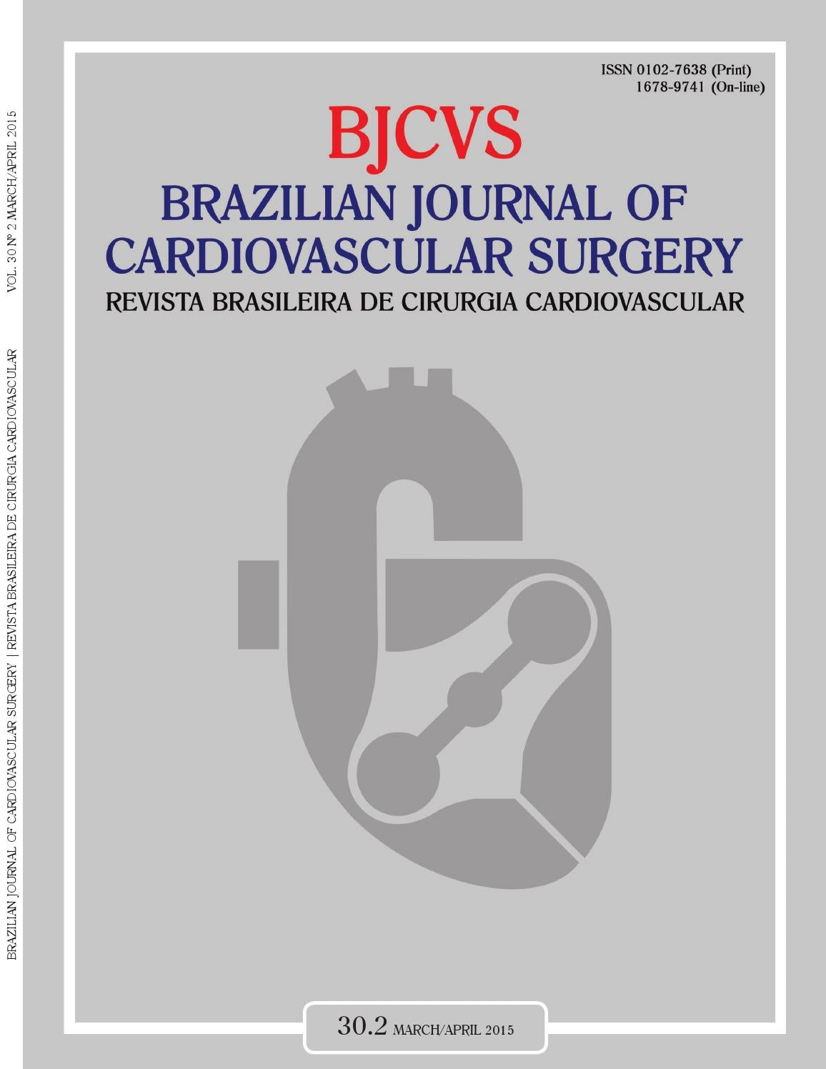 Brazilian Journal Of Cardiovascular Surgery 302 By Revista Brasileira De Cirurgia
