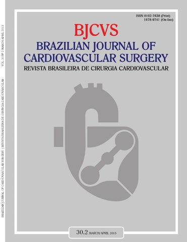 Brazilian Journal Of Cardiovascular Surgery 302 By Revista