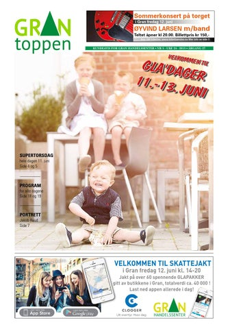 a69e2626 Grantoppen nr. 5 - juni 2015 by Gran Handelssenter - issuu