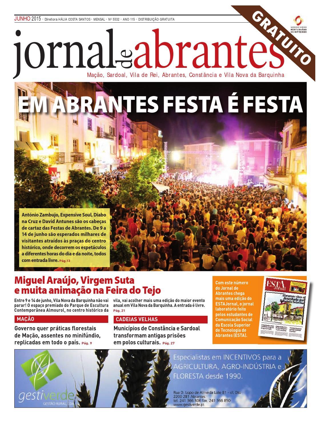 Jornal de Abrantes - Edição Junho 2015 by Miguel Ramos - issuu 3708023f47f3