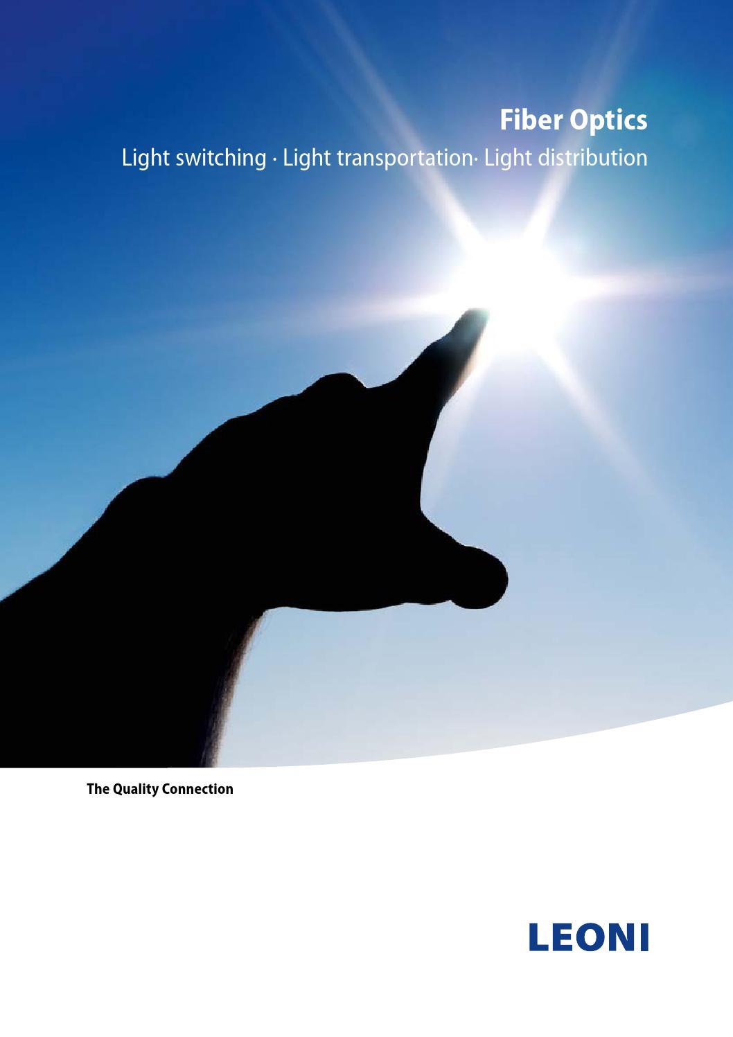 Leoni Fiber Optics 2015 by Calpe Industrial Products - issuu