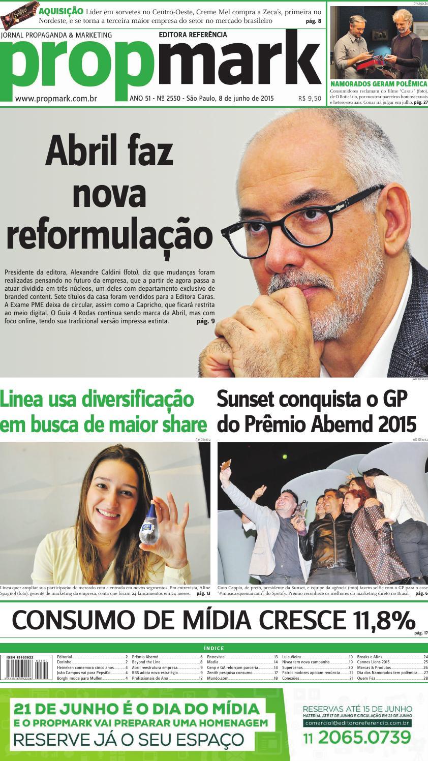 ef29b181e6926 Segunda 08 de junho de 2015 by propmark - issuu