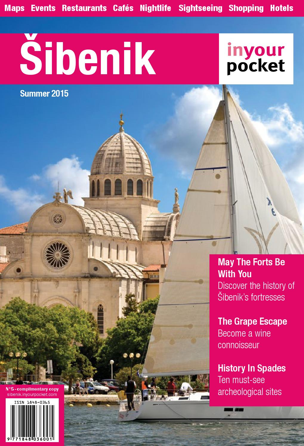 Sibenik In Your Pocket No5 By In Your Pocket City Guides Issuu