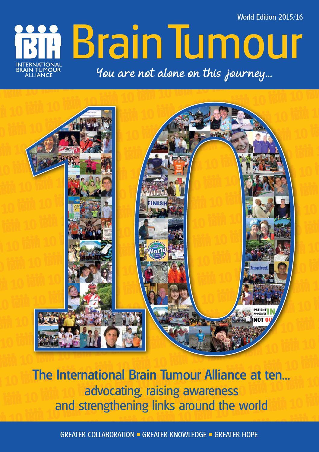 Brain Tumour Magazine: World Edition 2015 by The International Brain Tumour  Alliance (IBTA) - issuu