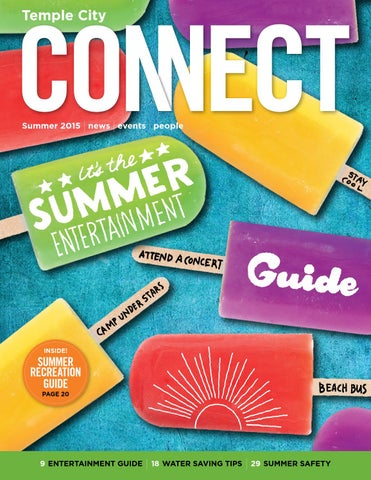 Temple City Connect Summer 2015 By City Of Temple City Issuu