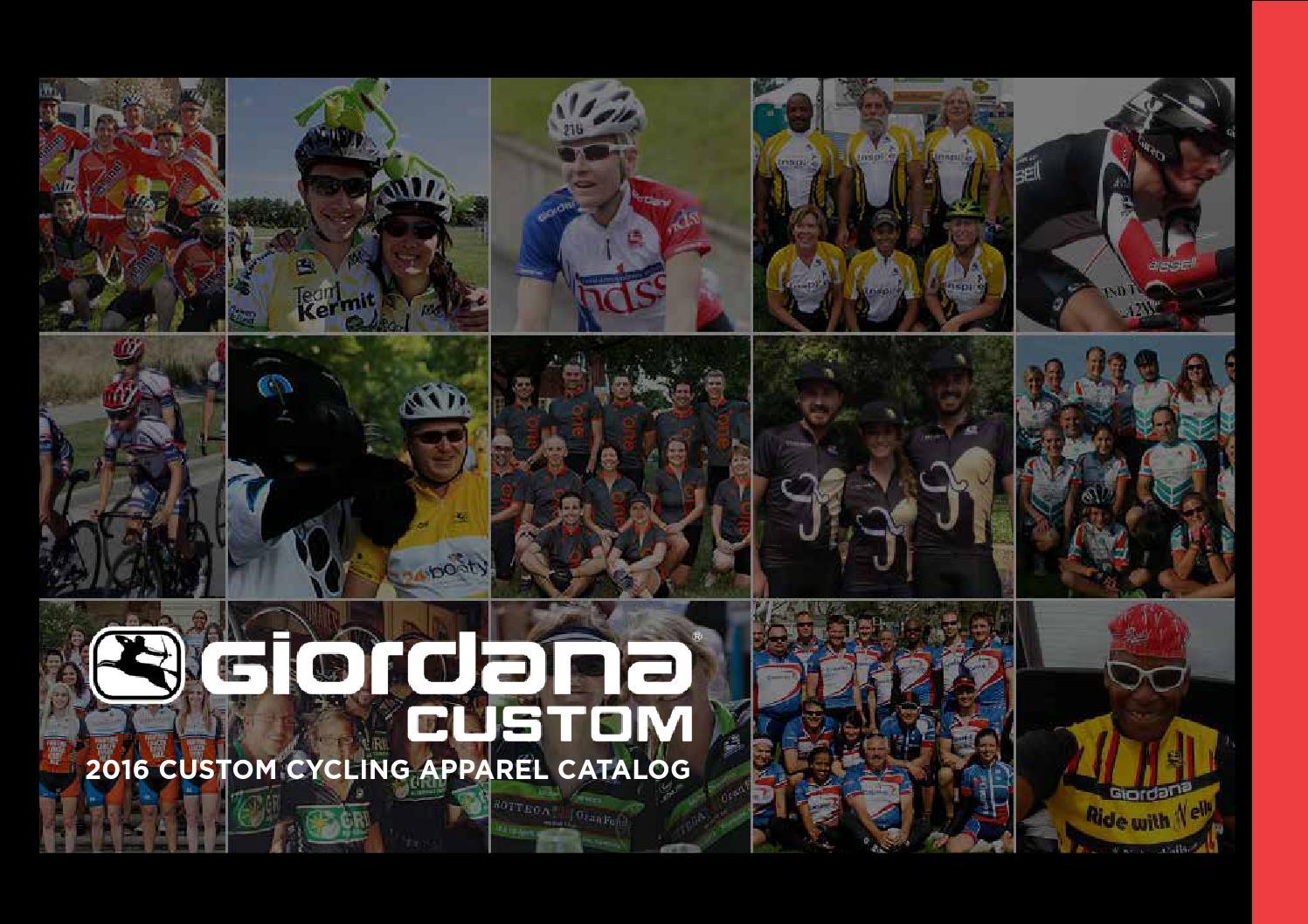 28936b453 Giordana 2016 Custom Clothing Catalog by Giordana Cycling - issuu
