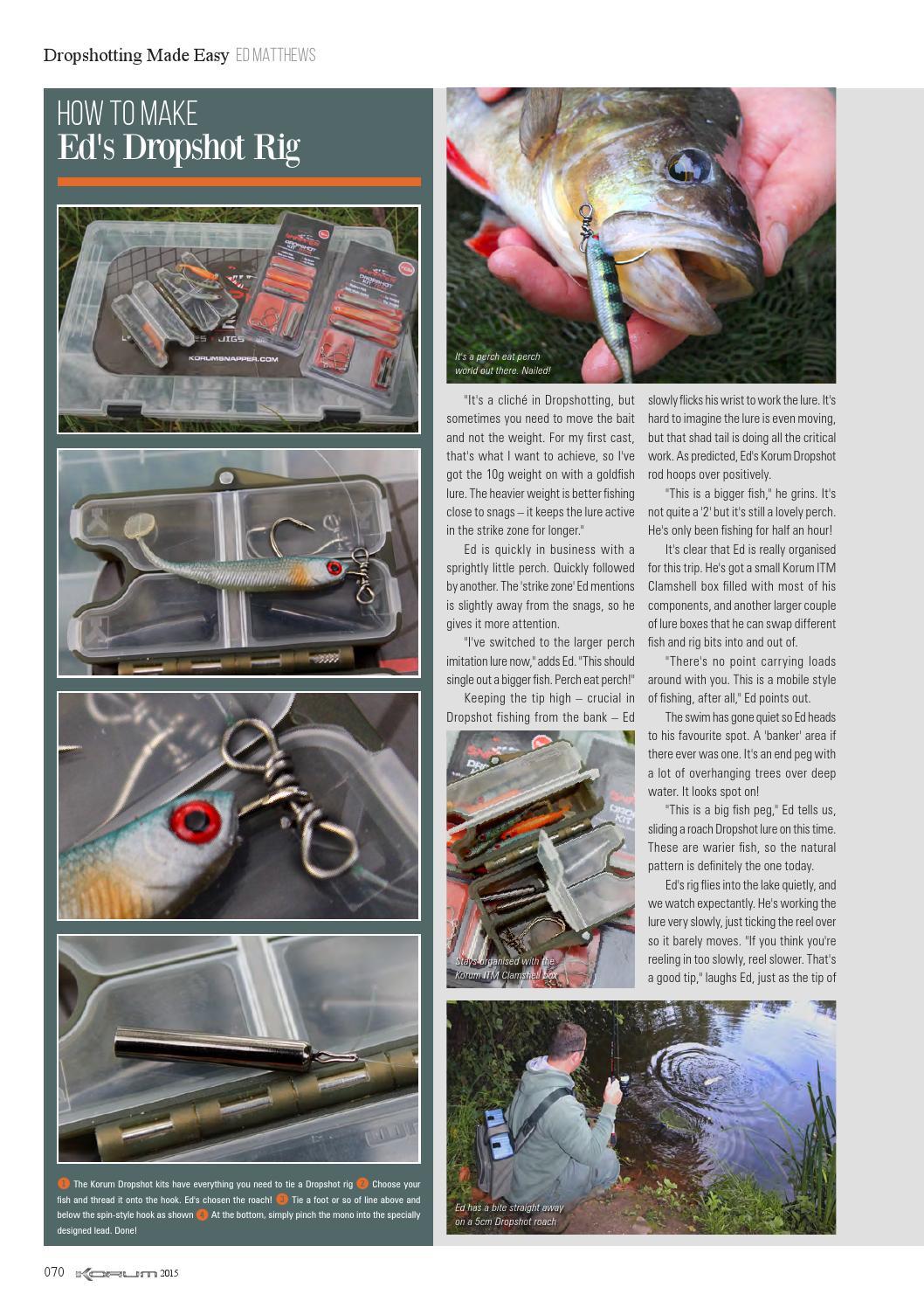 Korum Fishing Made Easy 2015 by Fishing UK - issuu