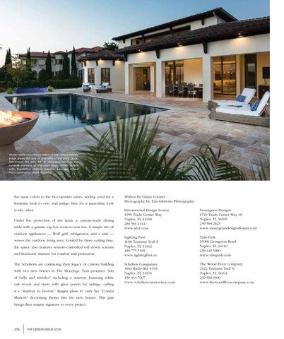 Home Design Magazine Design Issue 2015 Southwest Florida