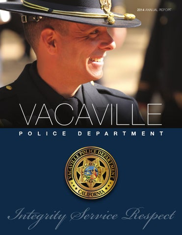 Vacaville Police Department Annual Report by Vacaville