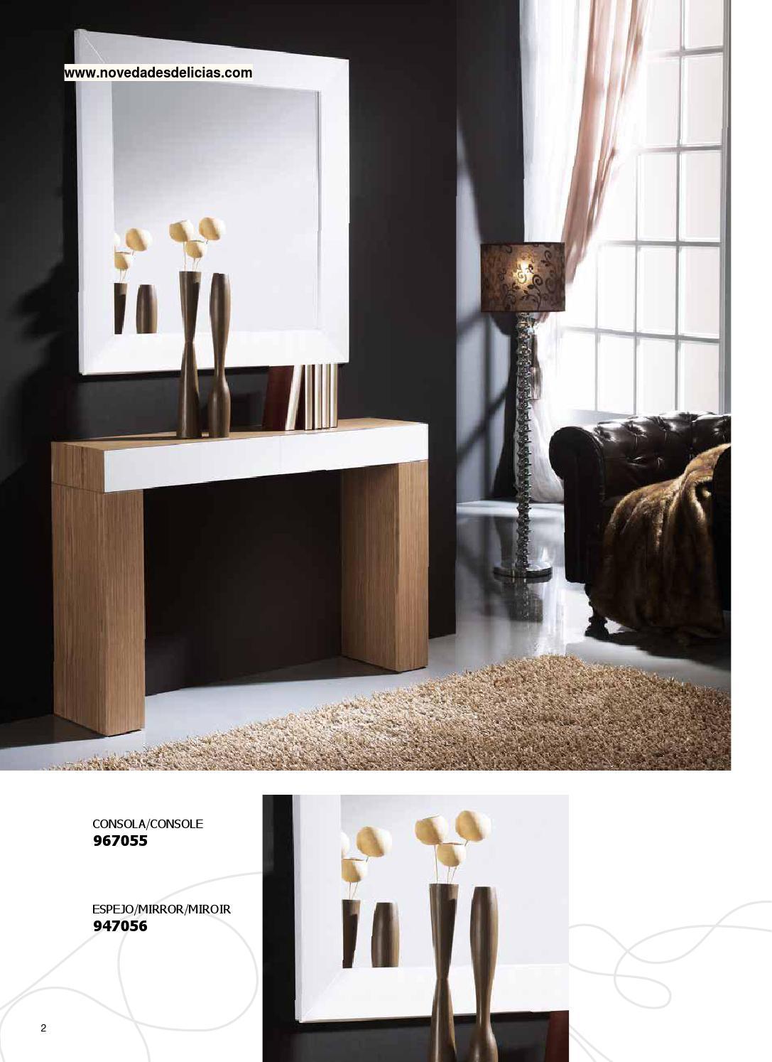 Cat logo de mueble auxiliar colecci n viento by cat logo - Novedades delicias ...